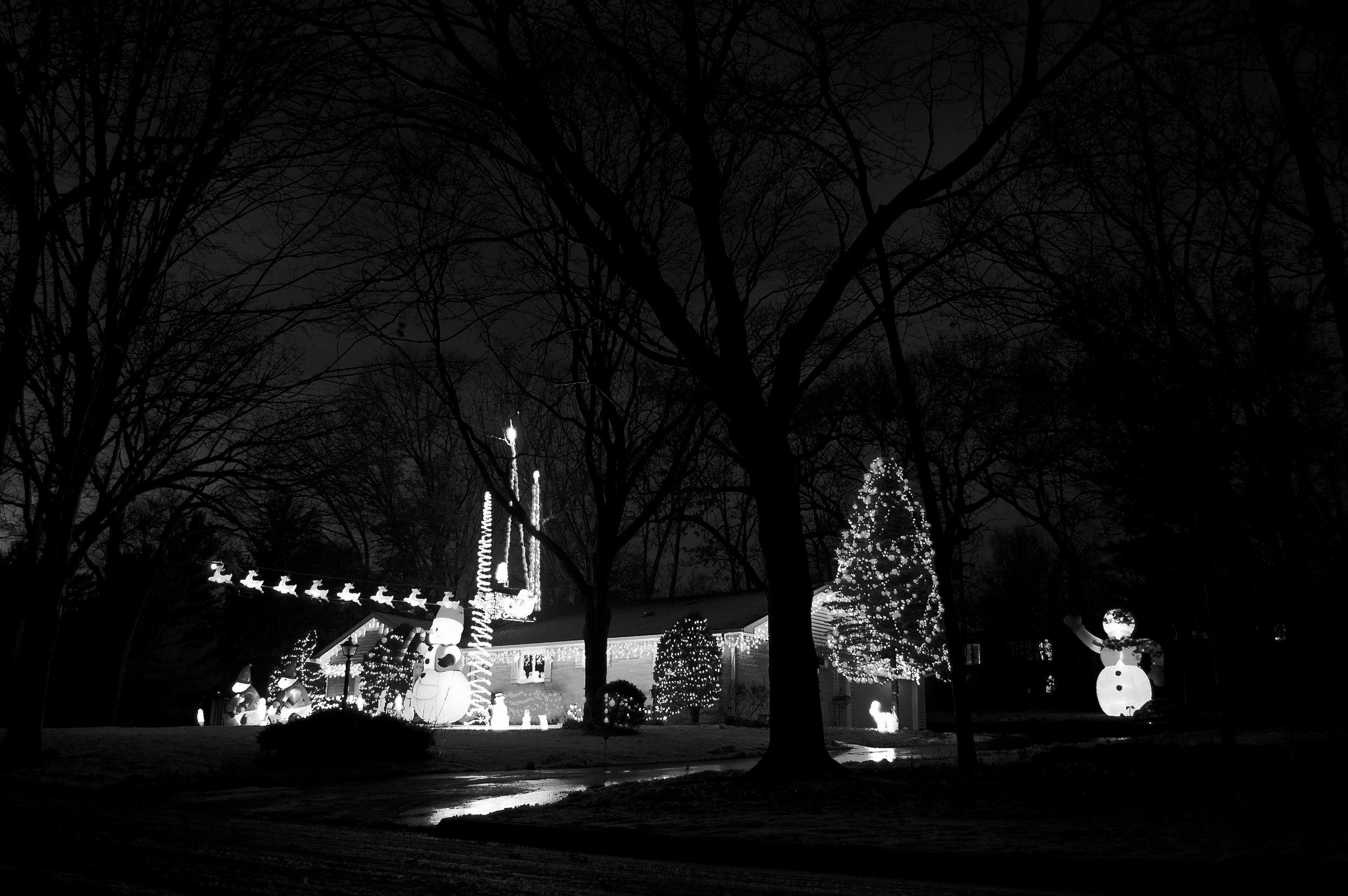 Glow Men. Madison, Wisconsin. December 2011. © William D. Walker