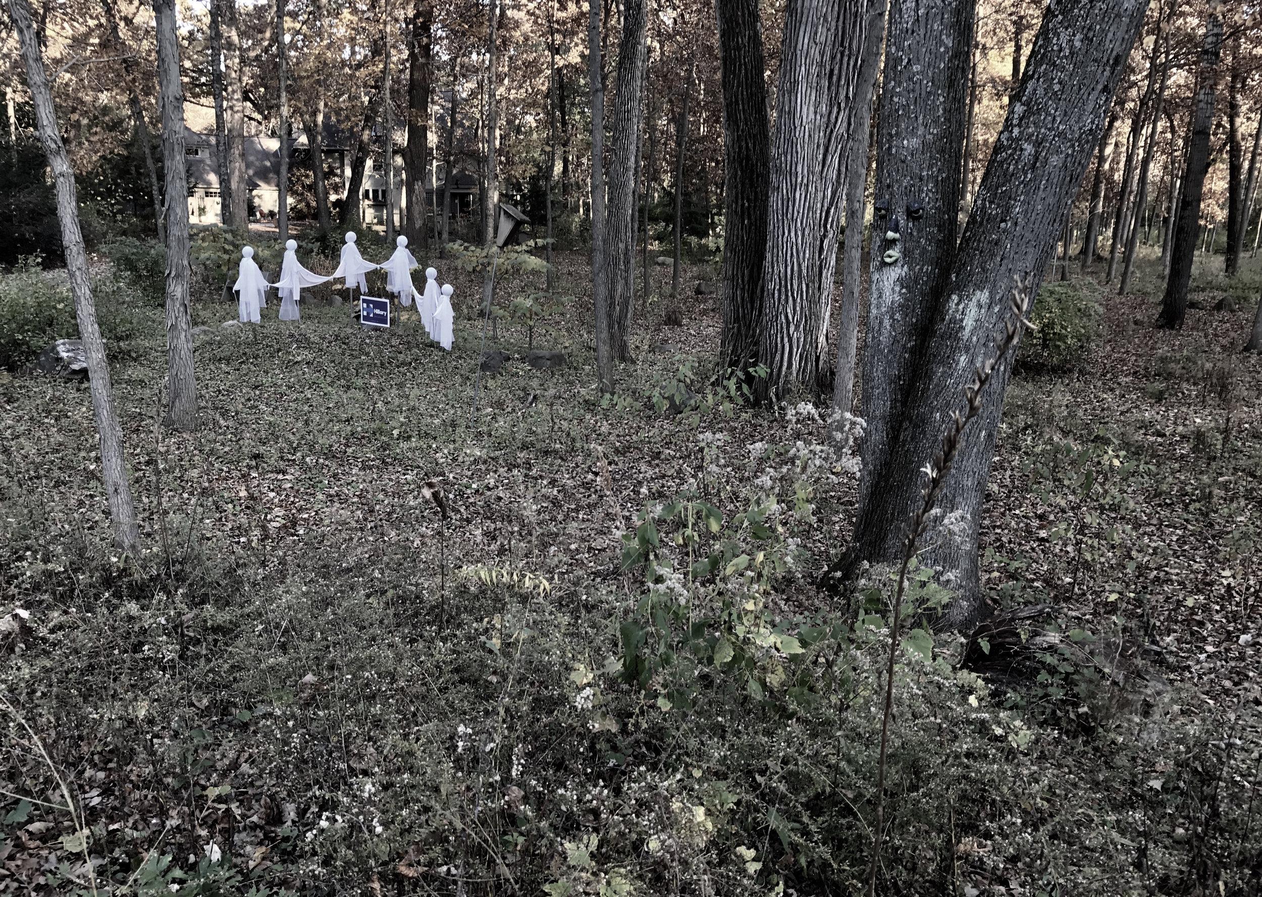 Ghosts. Madison, Wisconsin. October 2016. © William D. Walker