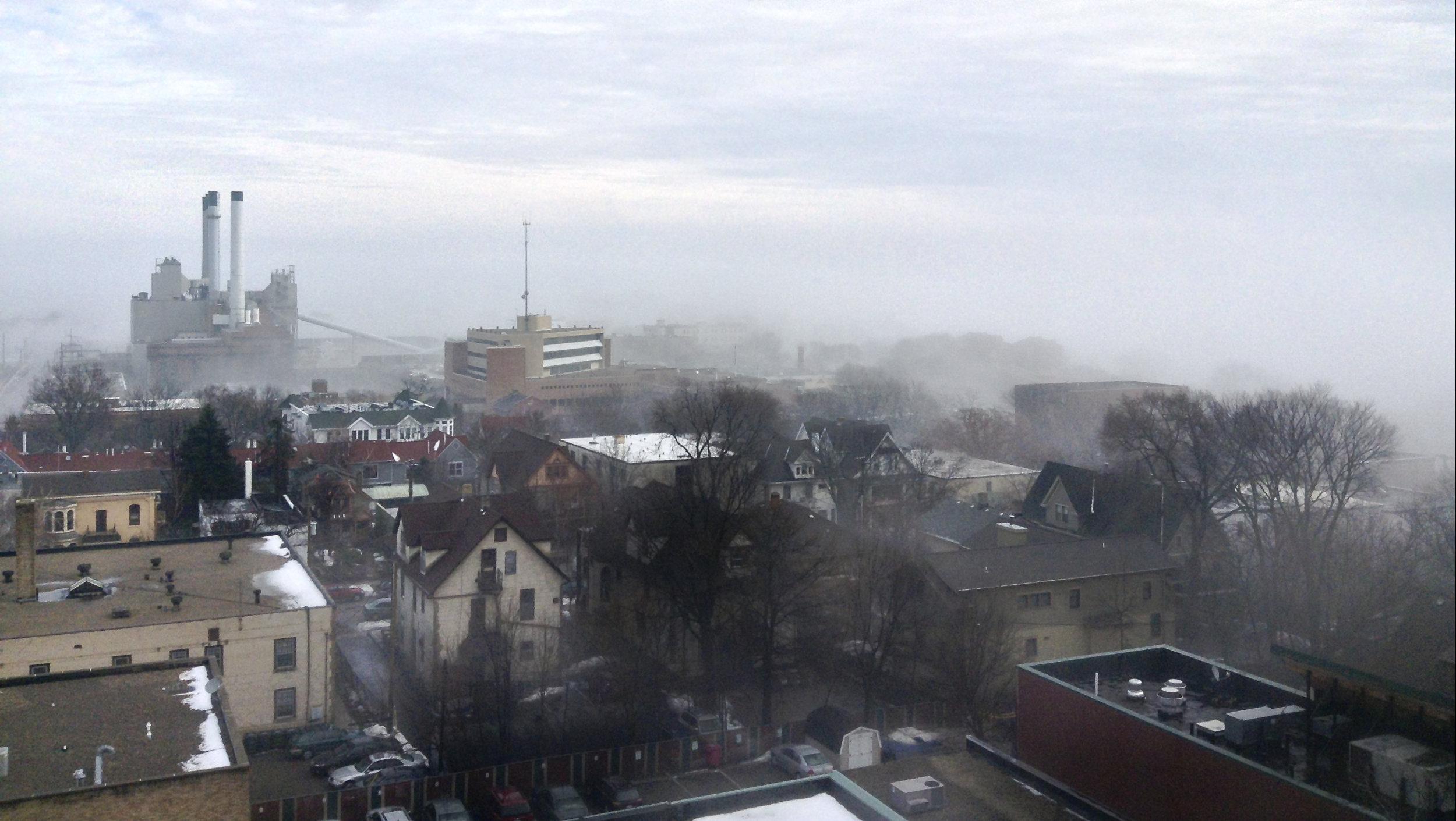 Winter Fog. Madison, Wisconsin. January 2013. © William D. Walker