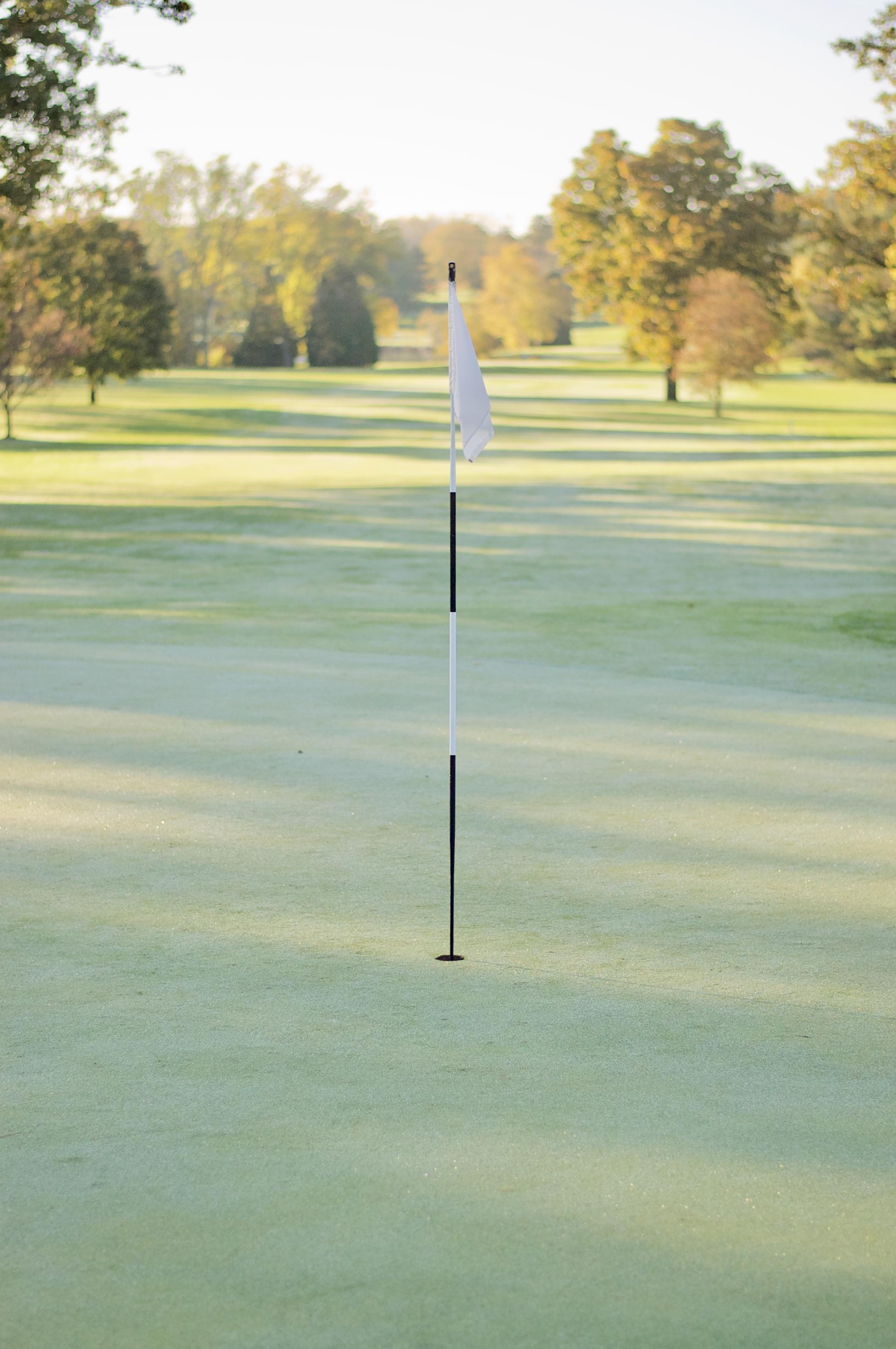 Fairway. Odana Hills Course. Madison, Wisconsin. October 2016. © William D. Walker