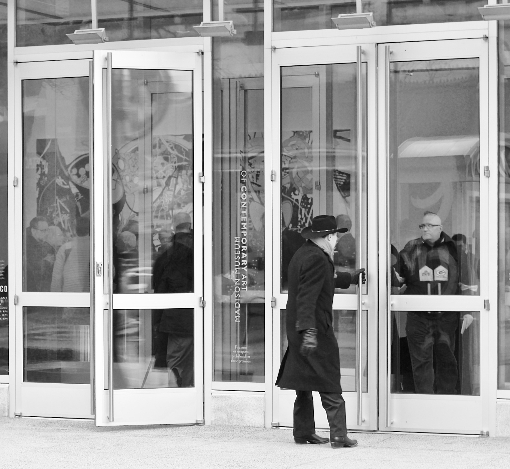 Entryway. State Street. Madison, Wisconsin. April 2016. © William D. Walker