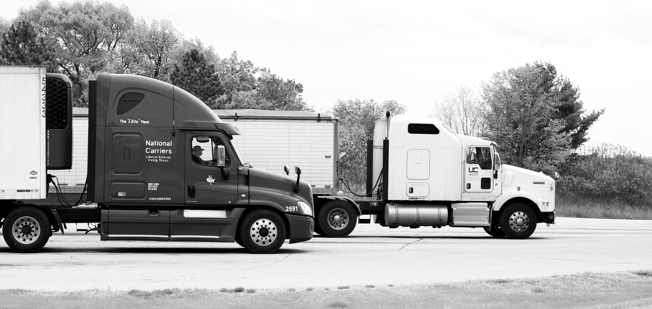 Carriers. Jamestown, Wisconsin. May 2015. © William D. Walker