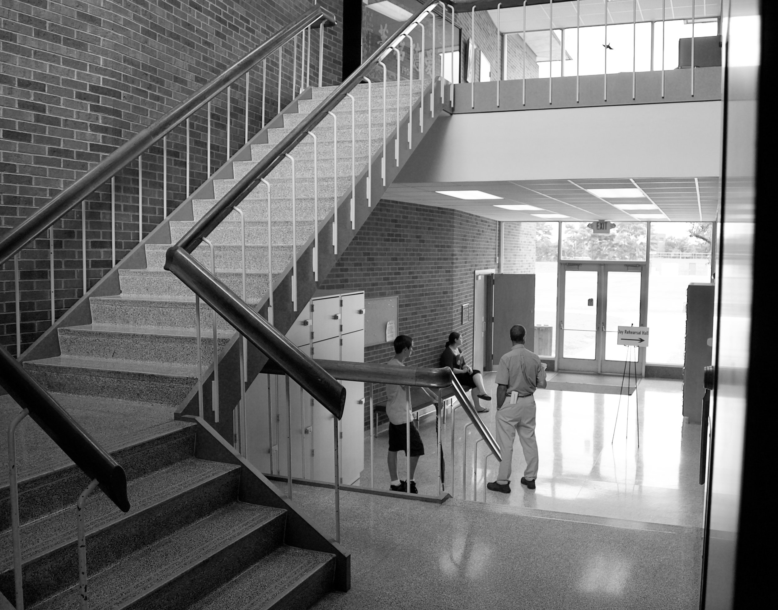 College Visit. Ford Center, Knox College. Galesburg, Illinois. July 2010. © William D. Walker