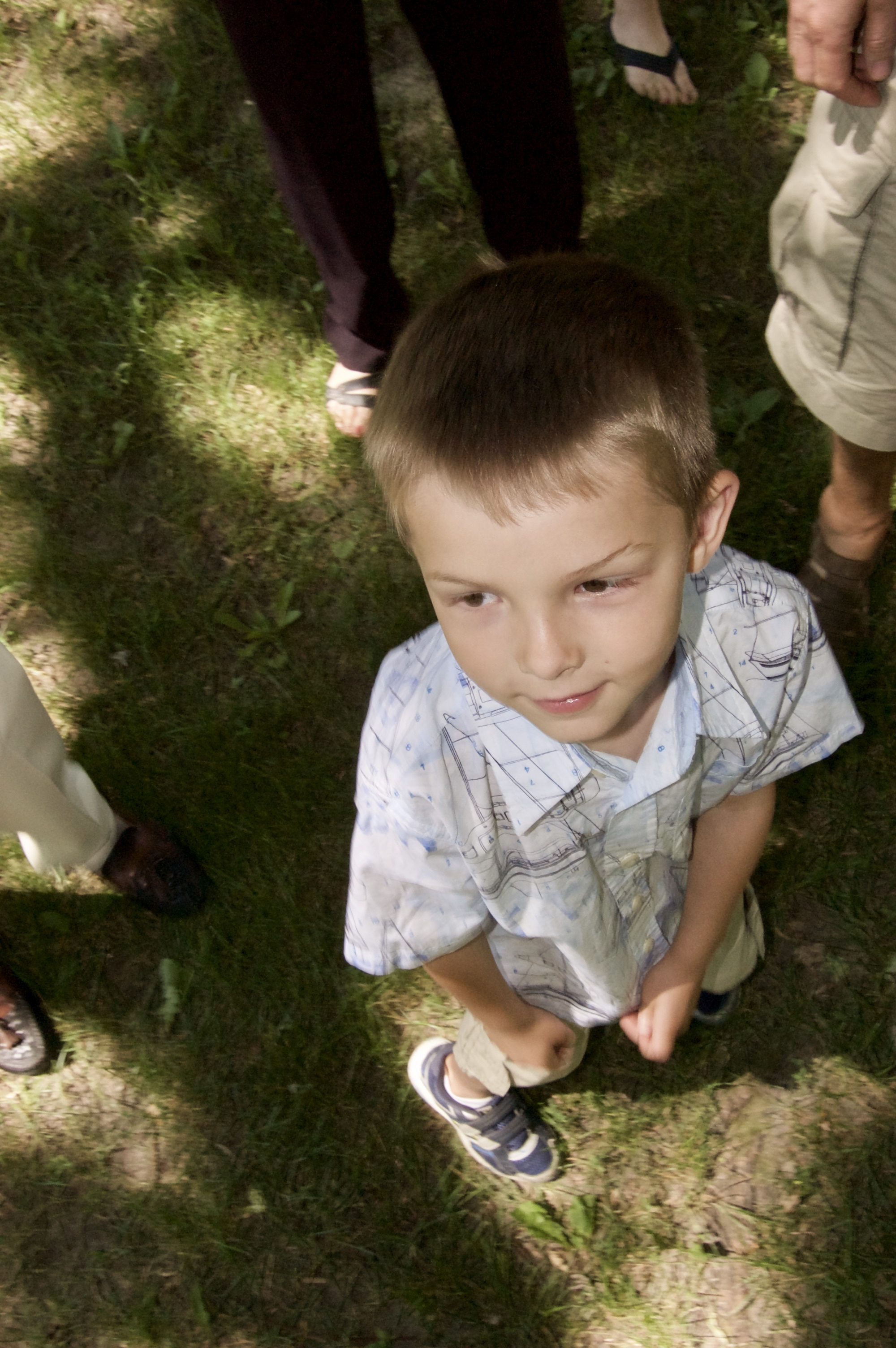 Surrounded. Westmorland Park. Madison, Wisconsin. June 2009. © William D. Walker