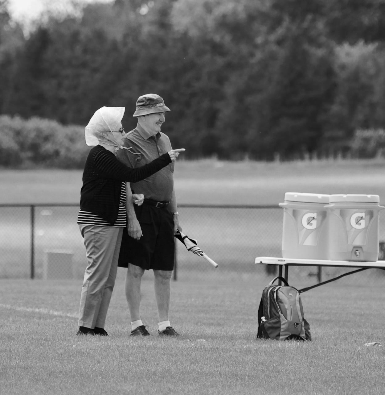 Hats. Sportscore Two. Loves Park, Illinois. June 2017. © William D. Walker