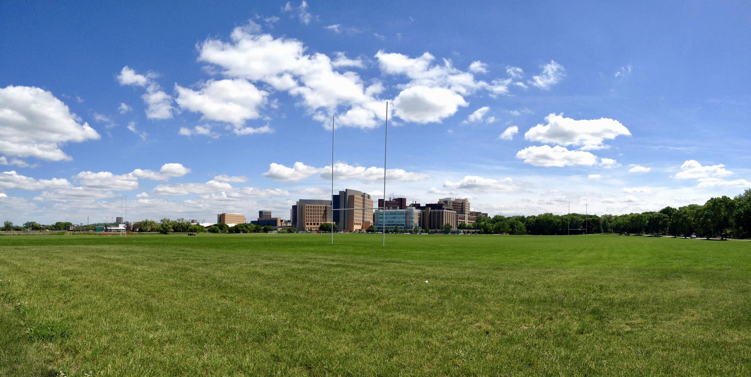 Goal. University Hospital. Madison, Wisconsin. June 2014. © William D. Walker