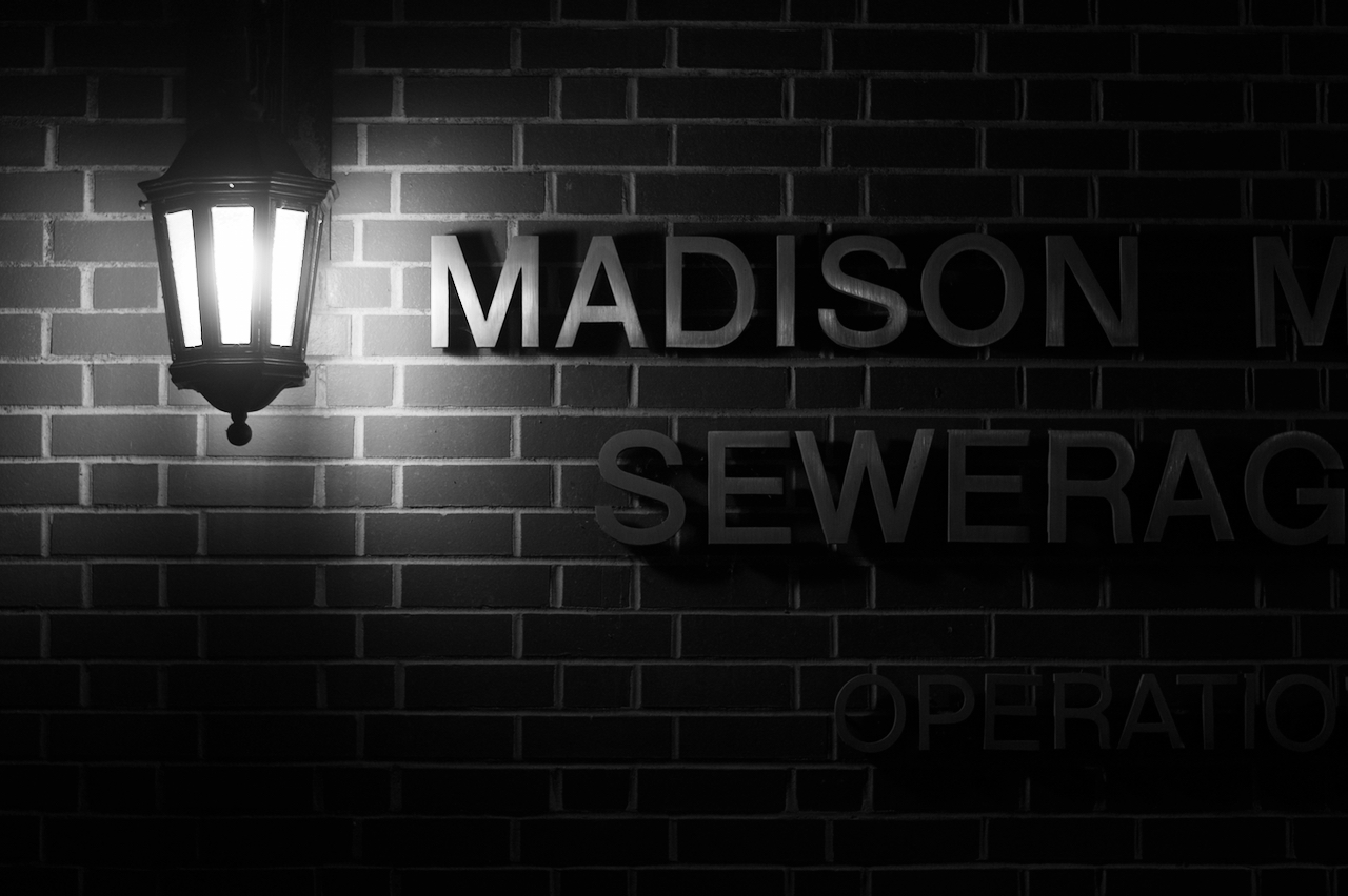 Kerning. MMSD. Madison, Wisconsin. December 2017. © William D. Walker