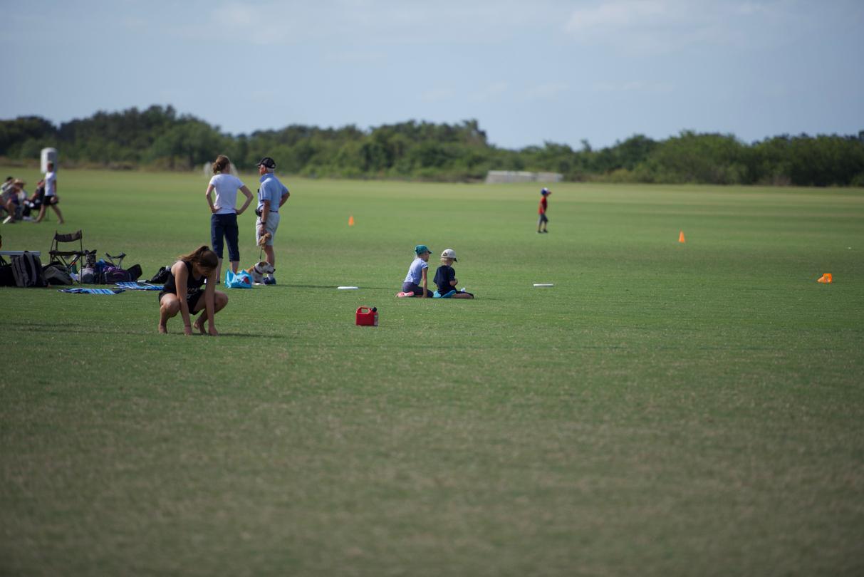 Bottle Toss. Premier Sports Campus. Bradenton, Florida. October 2017. © William D. Walker