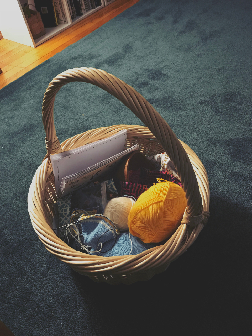 Easter Basket. Madison, Wisconsin. February 2018. © William D. Walker