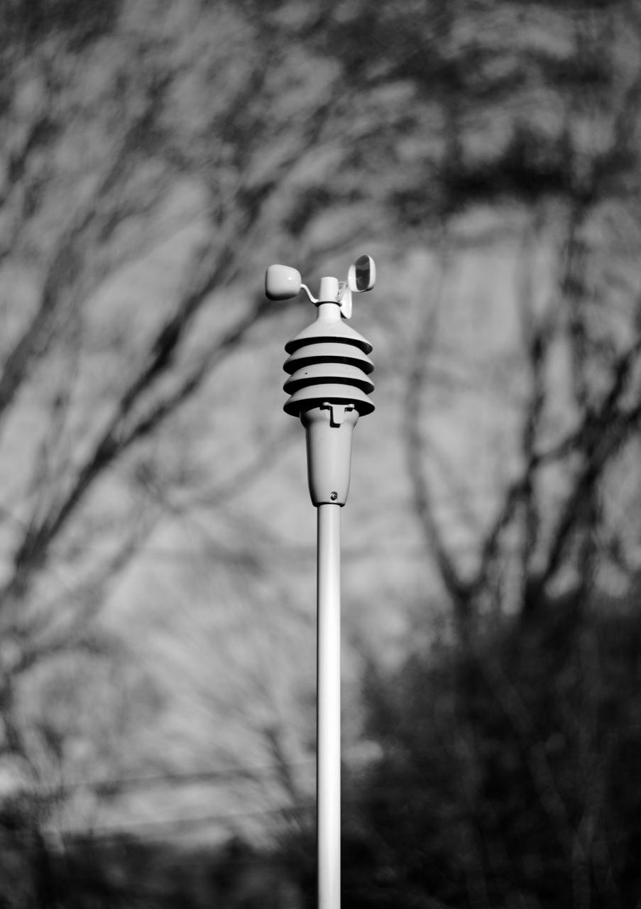 Monitoring Station. Madison, Wisconsin. November 2017. © William D. Walker