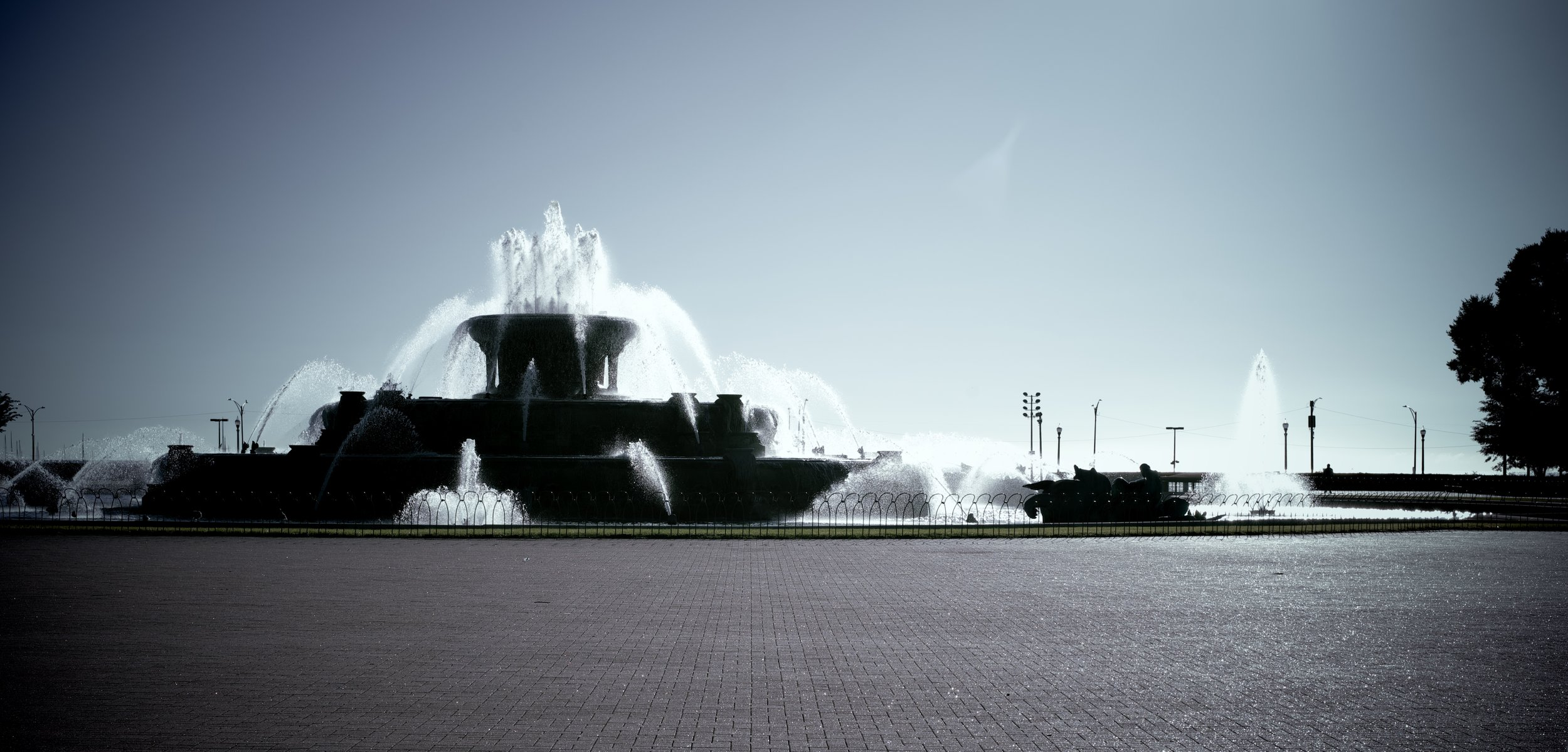 Grant Park Fountain. Chicago, Illinois. September 2019. © William D. Walker