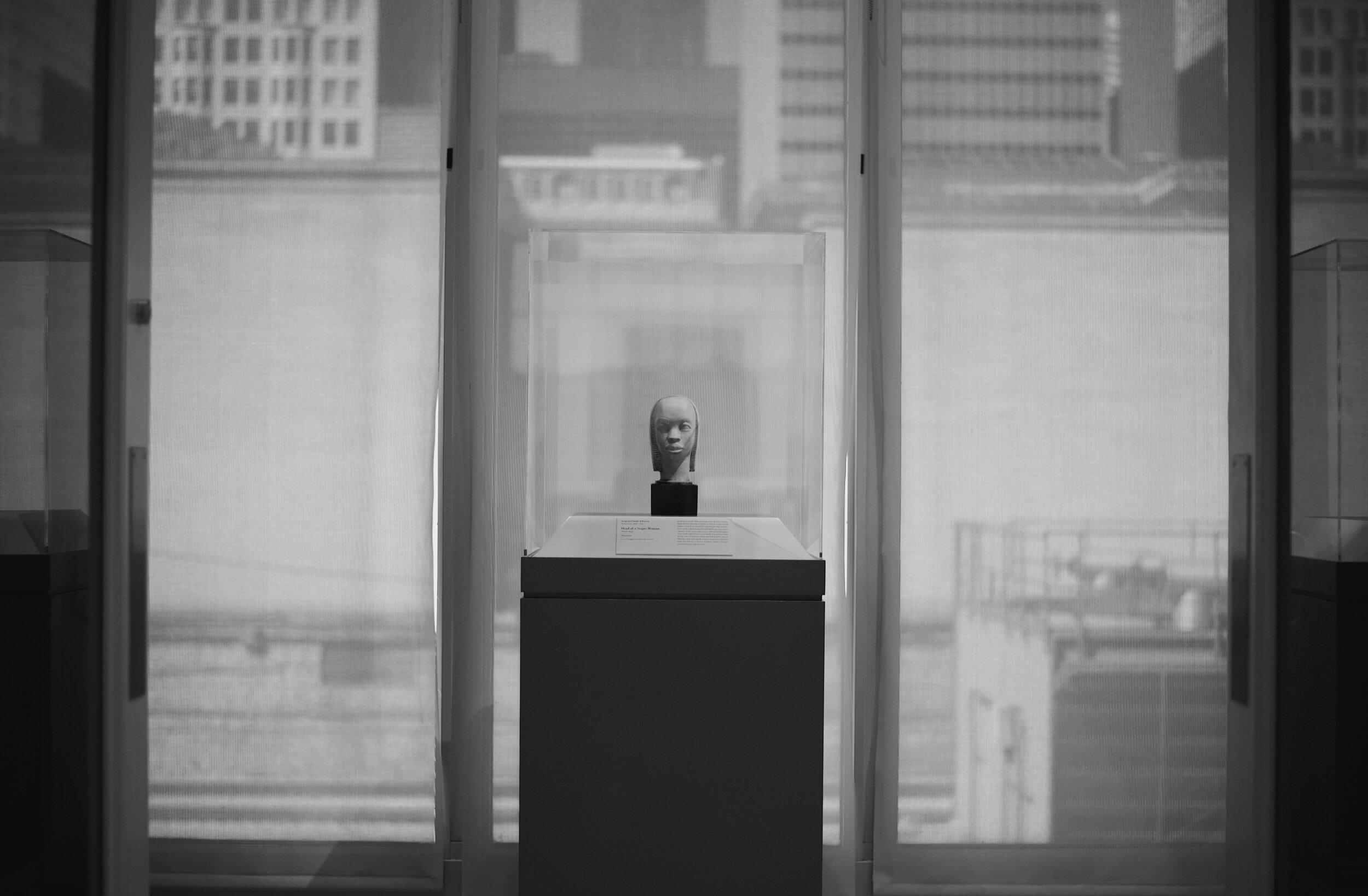 Display Case. Art Institute. Chicago, Illinois. September 2019. ©William D. Walker
