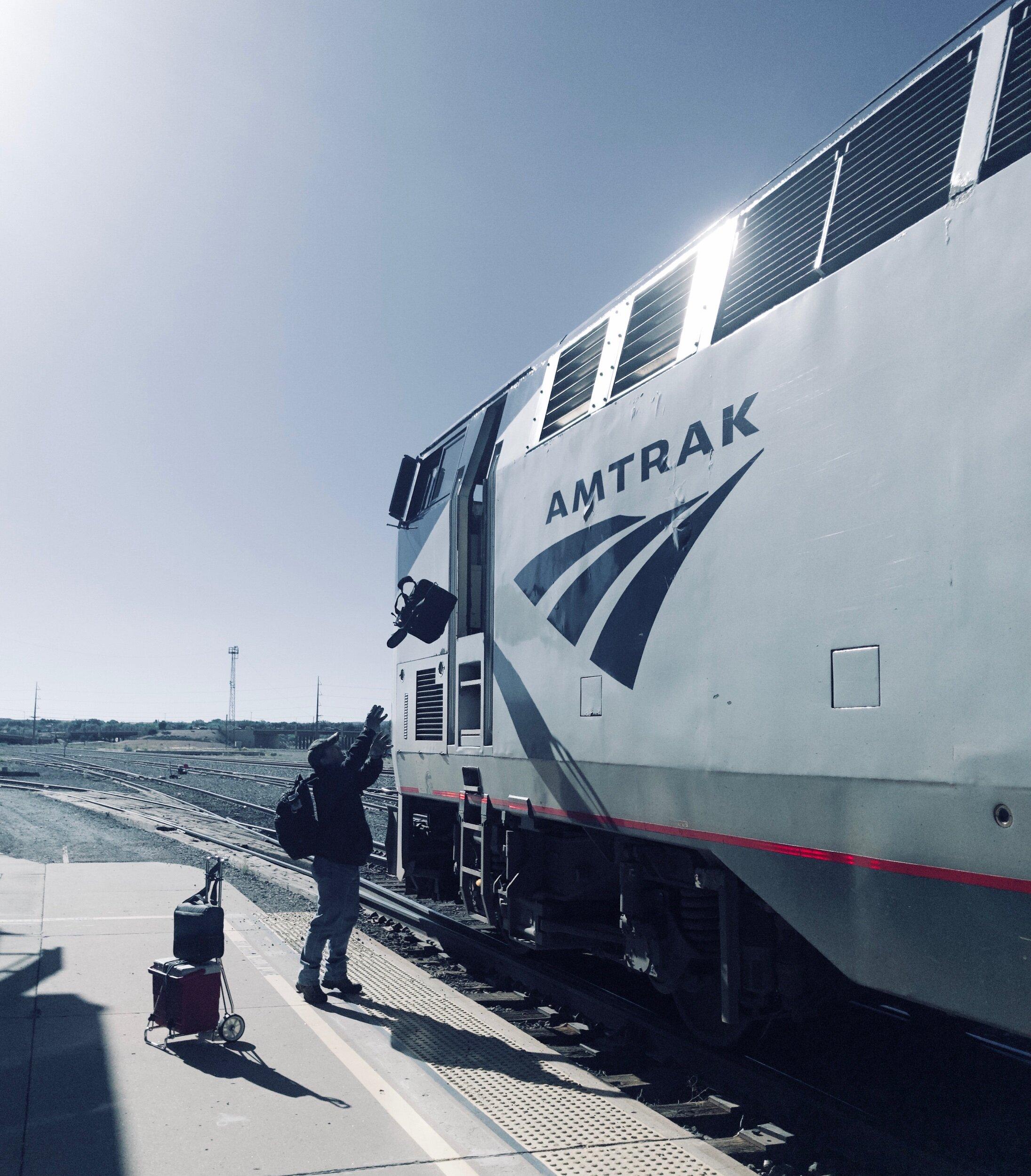 Engineer Aboard. Grand Junction, Colorado. September 2019. © William D. Walker