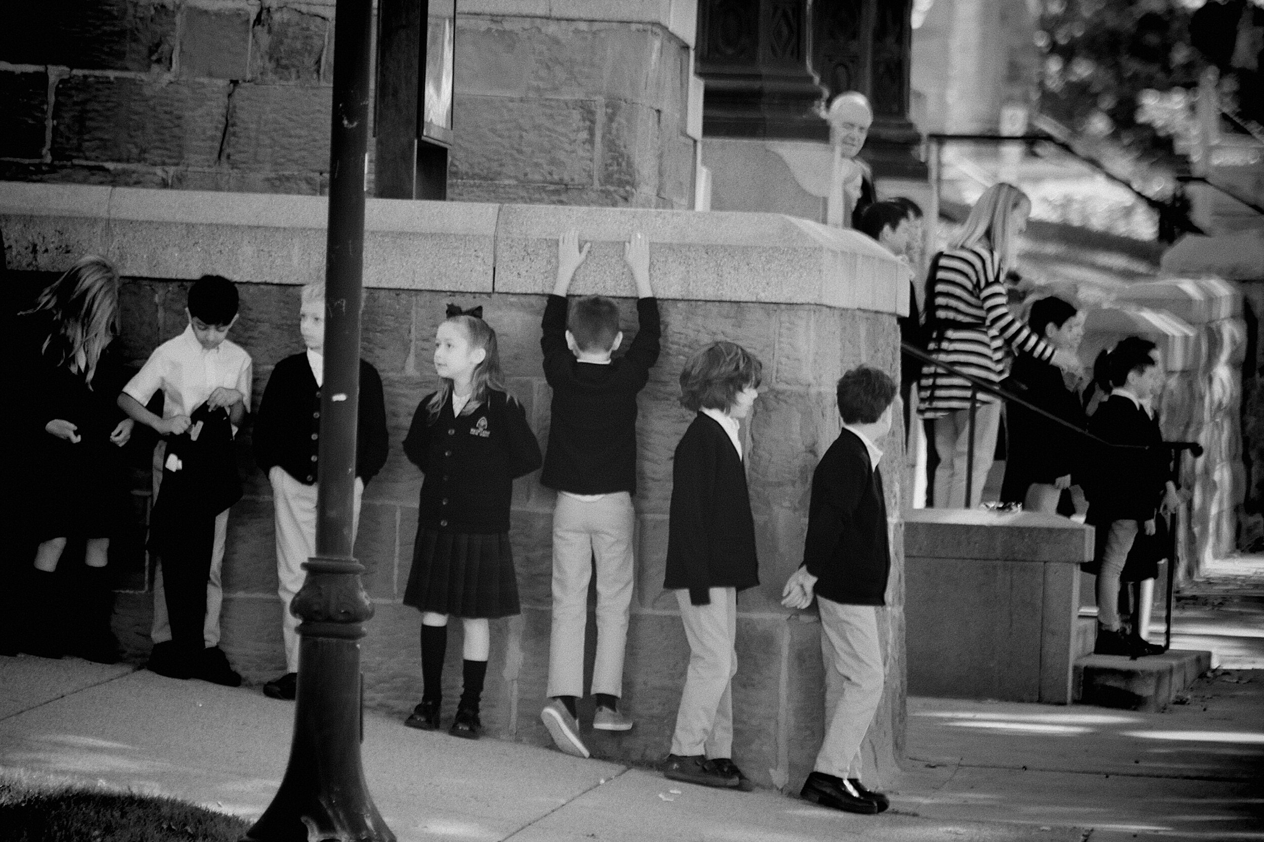 School Pictures. Salt Lake City, Utah. September 2019. ©William D. Walker
