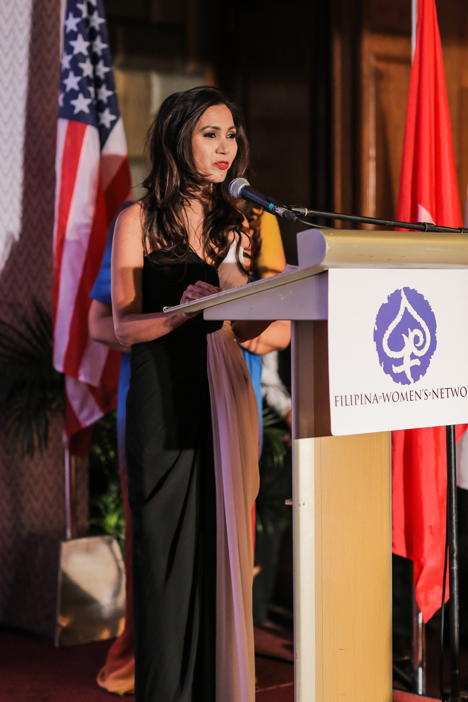 Rosario Cajucom-Bradbury (Global FWN100™ '16)Adviser to The Wallace Business Forum (WBF), Former Managing Director & CEO, SGS Philippines & SGS Gulf Ltd. ROHQ Former Chairwoman of Philippine Swiss Business Council delivers the Global FWN100™ Acceptance Speech on behalf of 2016's Most Influential Filipina Women in the World.