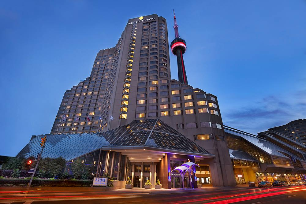 The Intercontinental Toronto Centre is a luxury downtown Toronto hotel of modern sophistication.