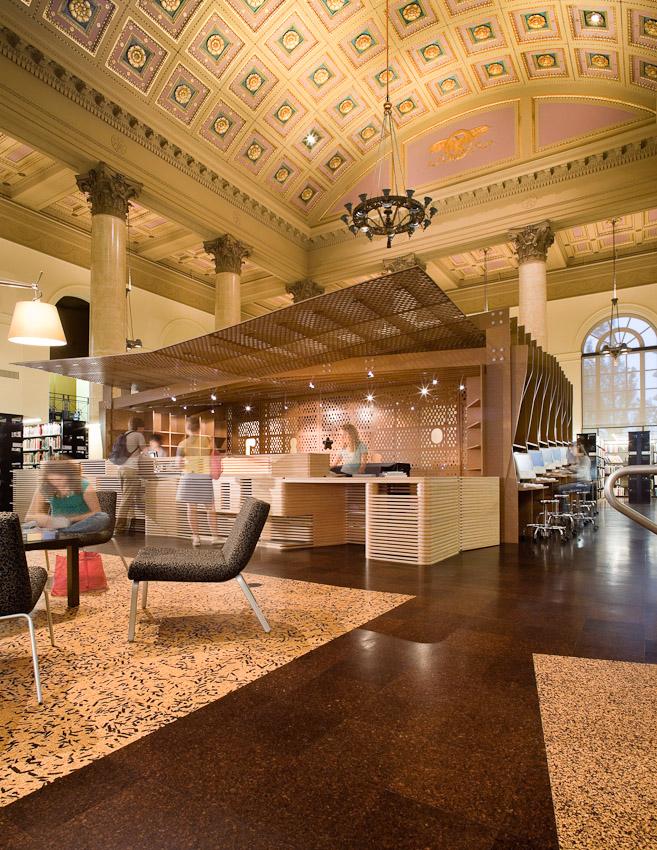 Project: RISD: Fleet Library  Location: Providence, RI  Designed by: Office dA