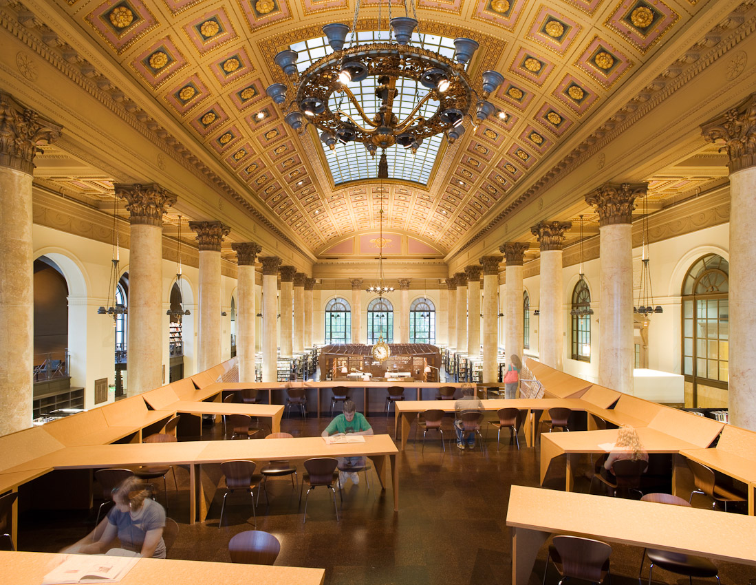 Project:  RISD: Fleet Library  Location:  Providence, RI  Designed by:  Office dA