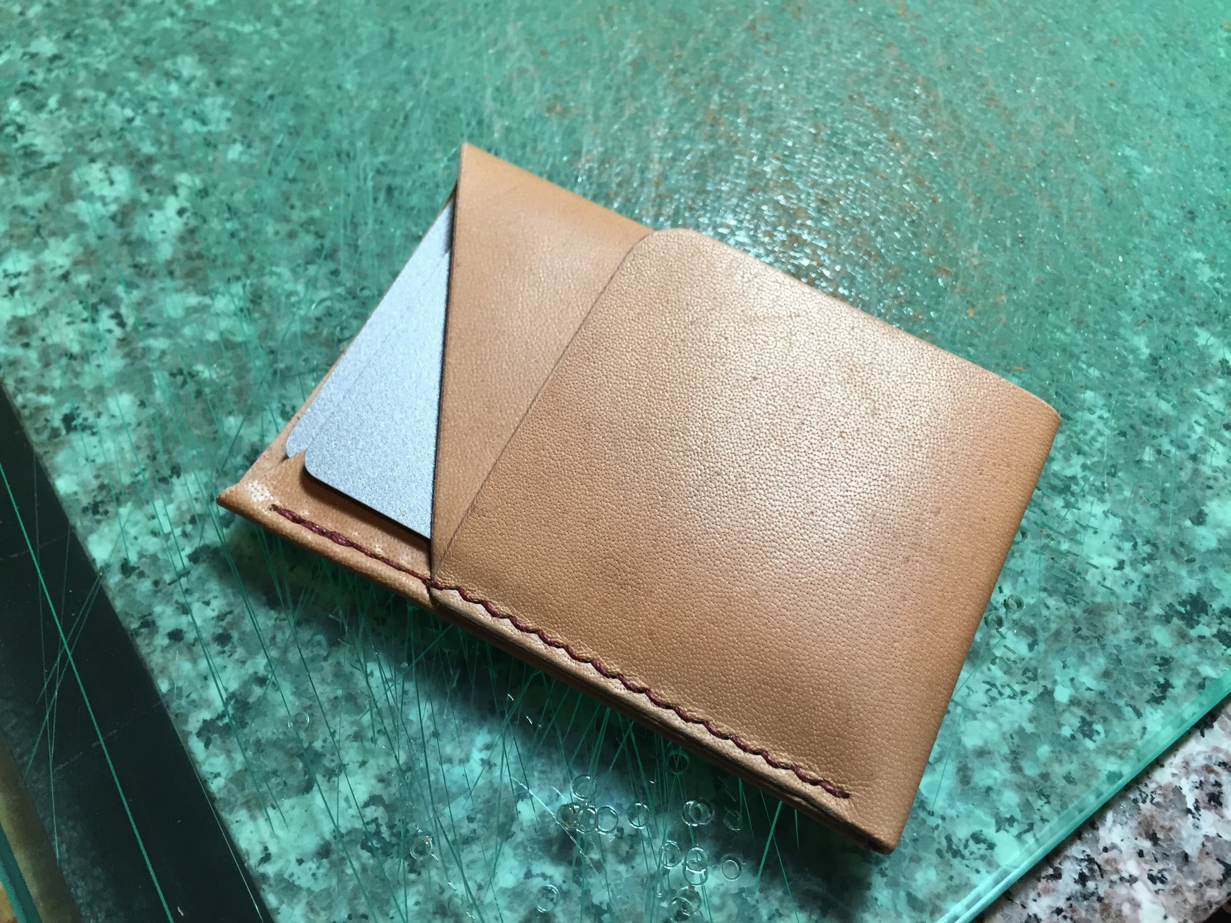 The finished wallet!