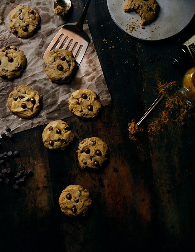 Curry Chocolate Chip Cookies