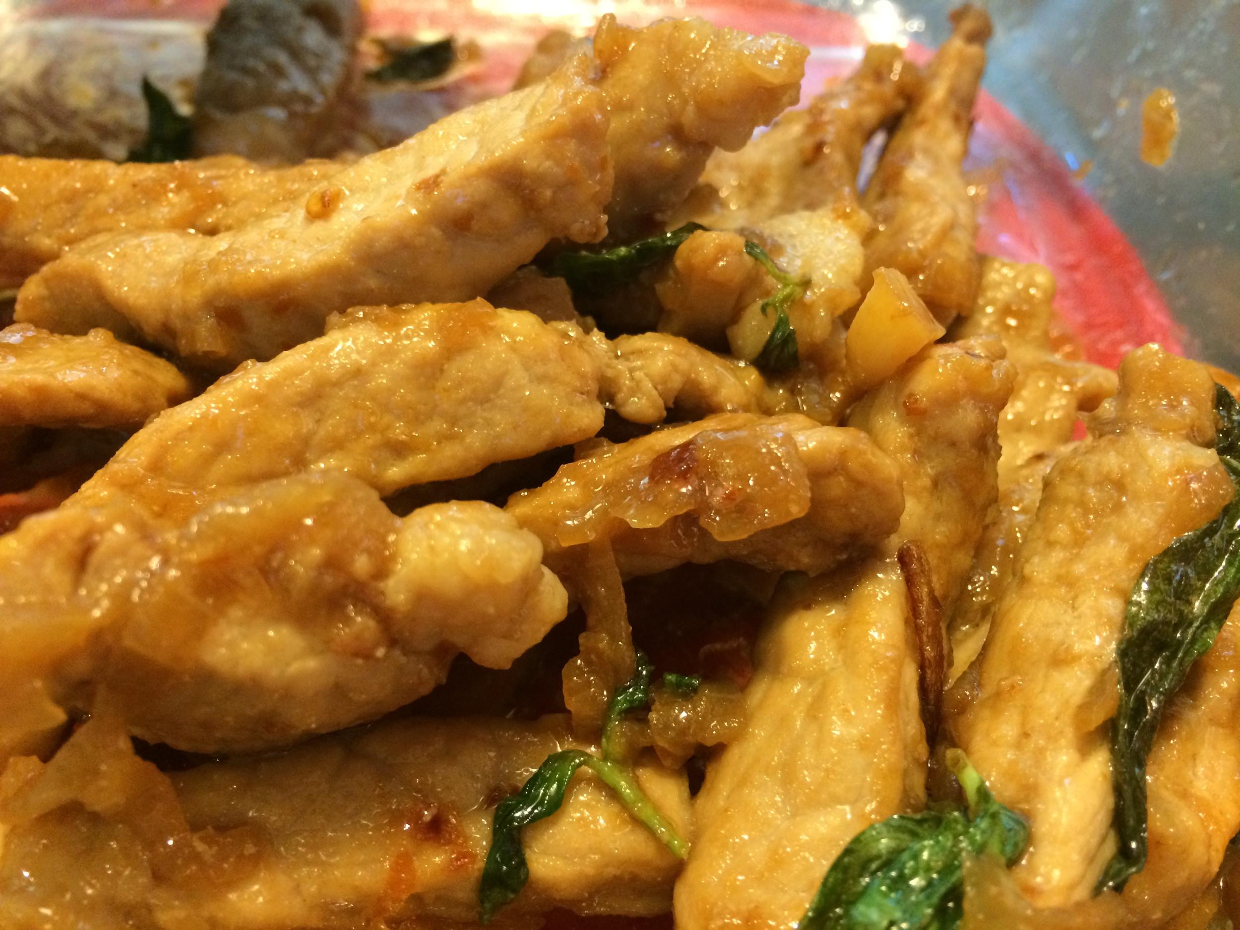 Thai-Style Stir-Fried Chicken + Basil