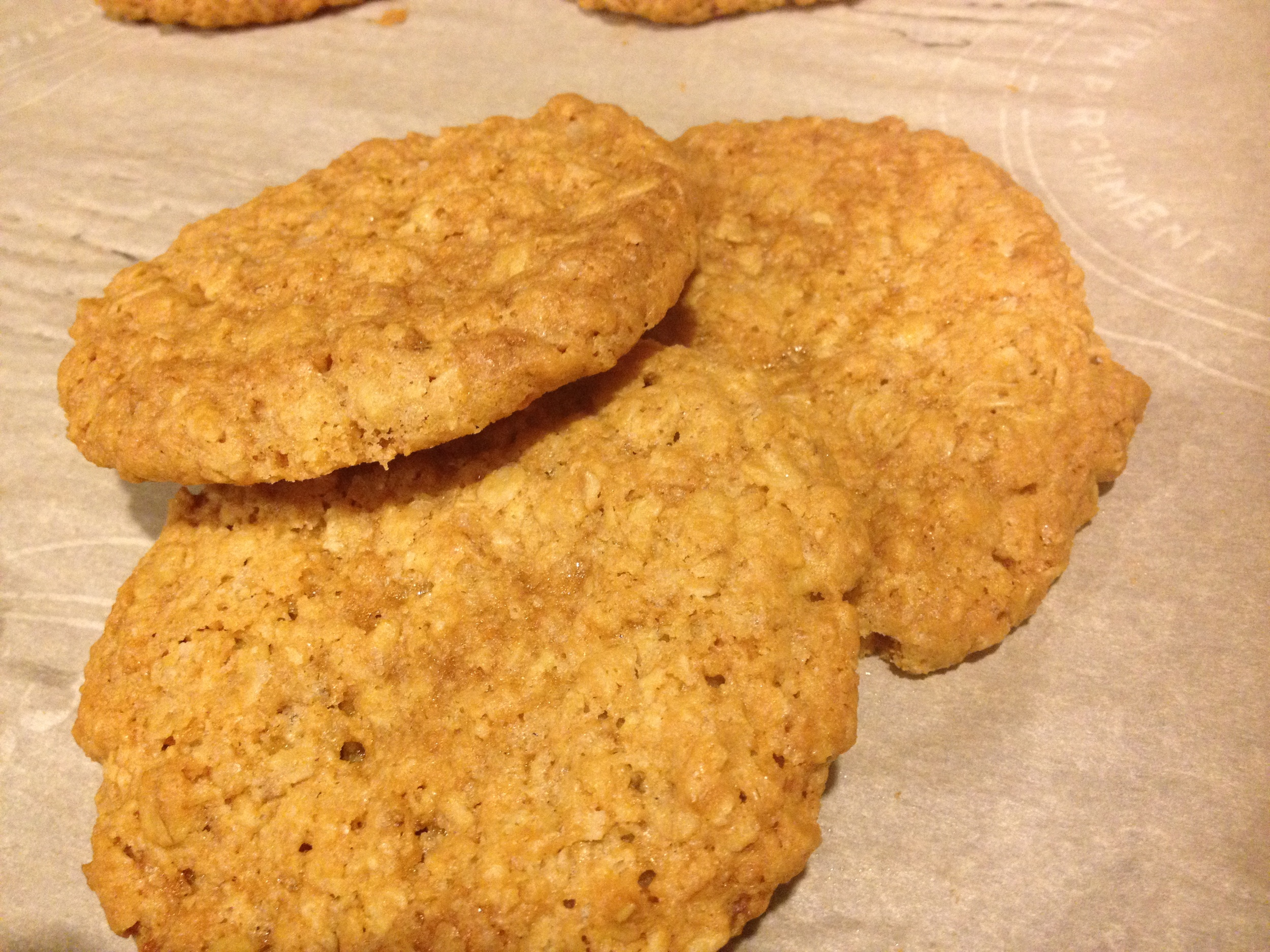 Salty Oat Cookies