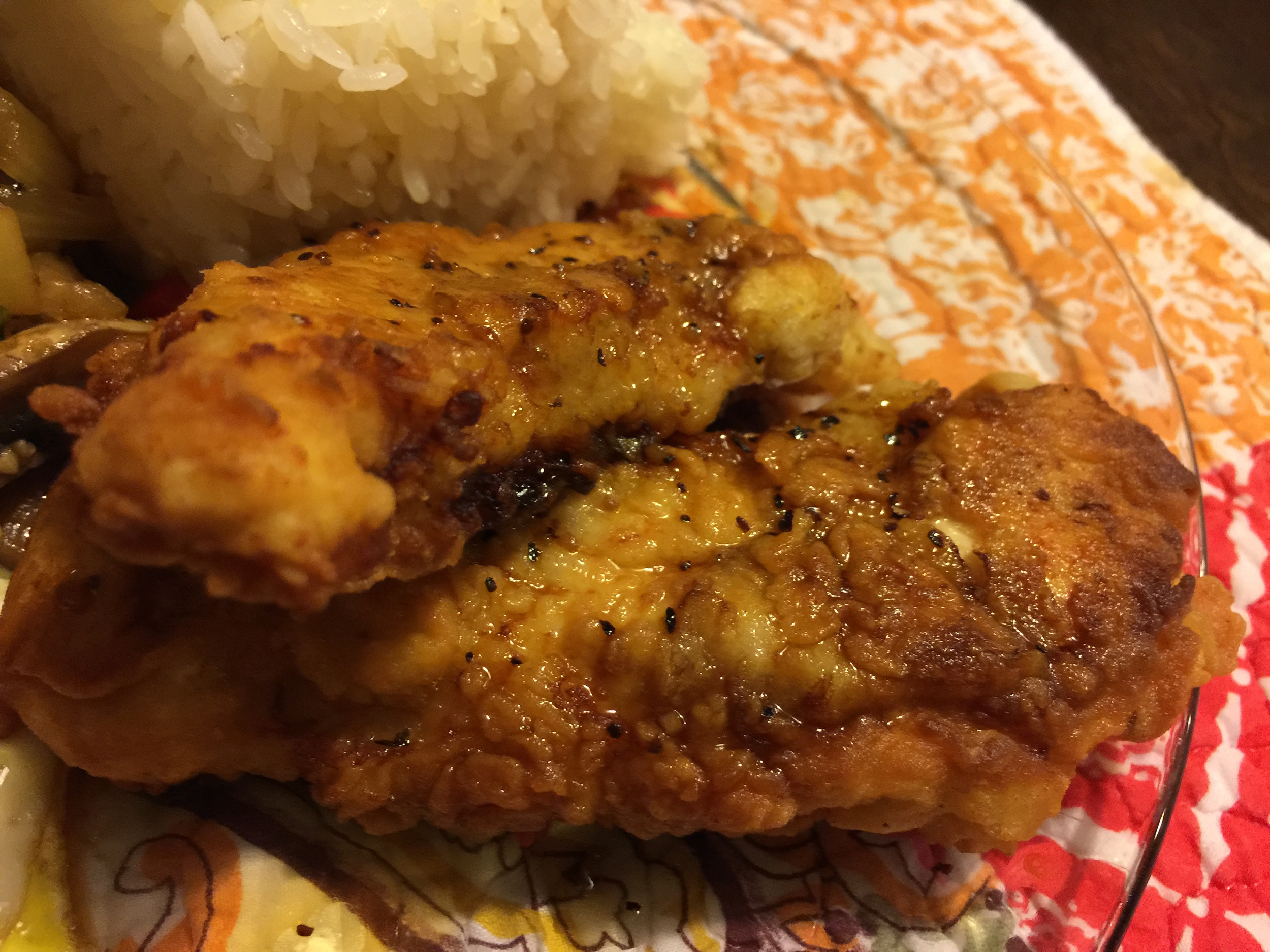 4. Asian Lemon Chicken Tenders