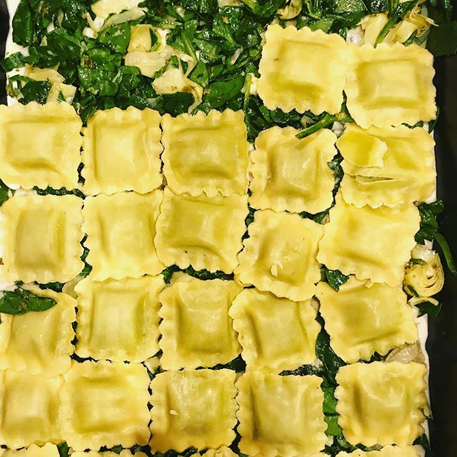 It's a #ravioli kind of life . #deliciousness #makingdinner #dinner #yummy