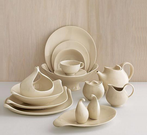 Century Ware , originally designed by Eva Zeisel in 1952 and reissued by Crate and Barrel