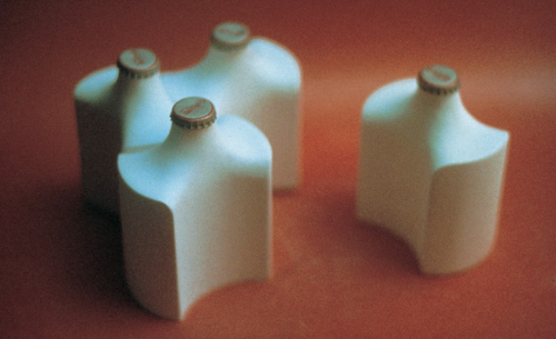 Prototypes  of a proposed Coke bottle