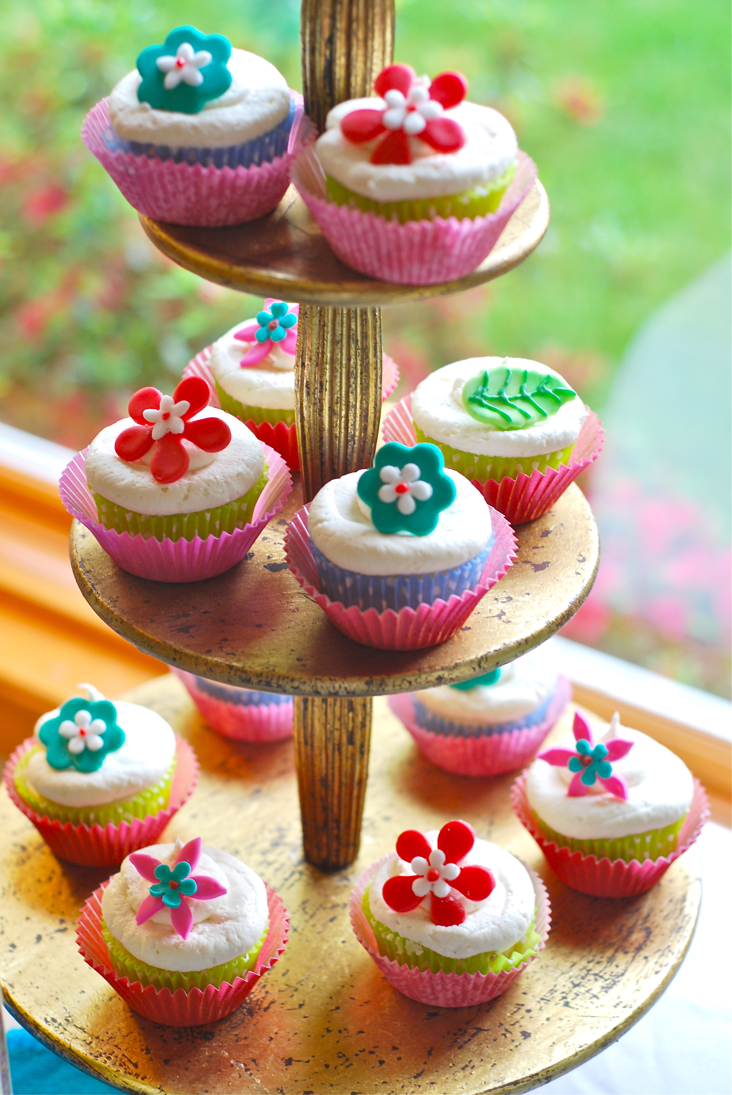 Sweet and festive cupcakes