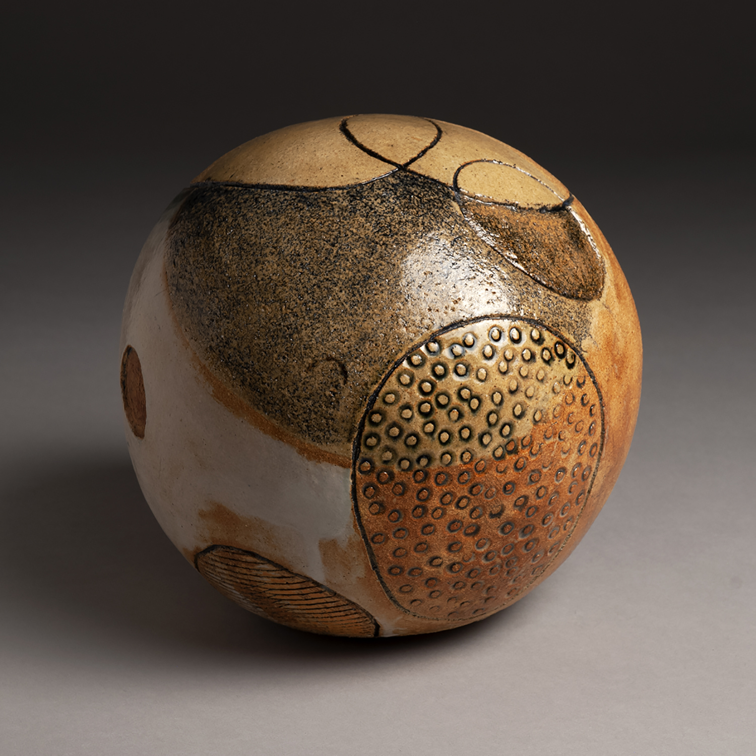 Helma af Klint, 2019, 14x14x14 inches, clay and glaze