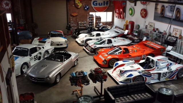 Pelican Parts Race Car Showroom