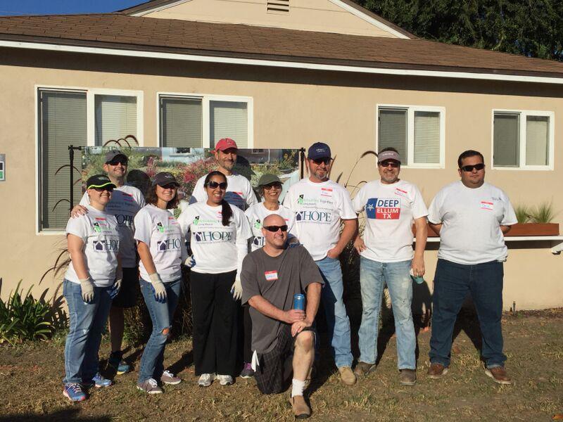 Johnson Controls volunteer crew!
