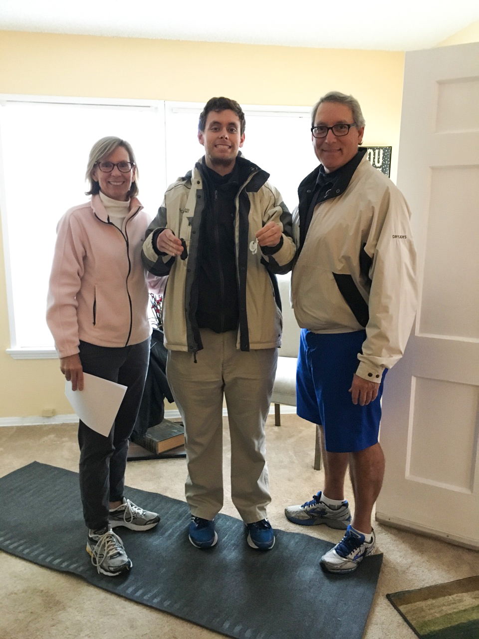 HOPE resident receives keys to first independent home.