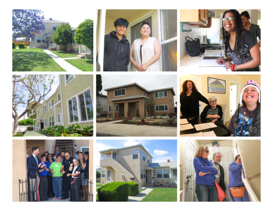 2017 Photos of HOPE housing completed and residents moving into their new homes.