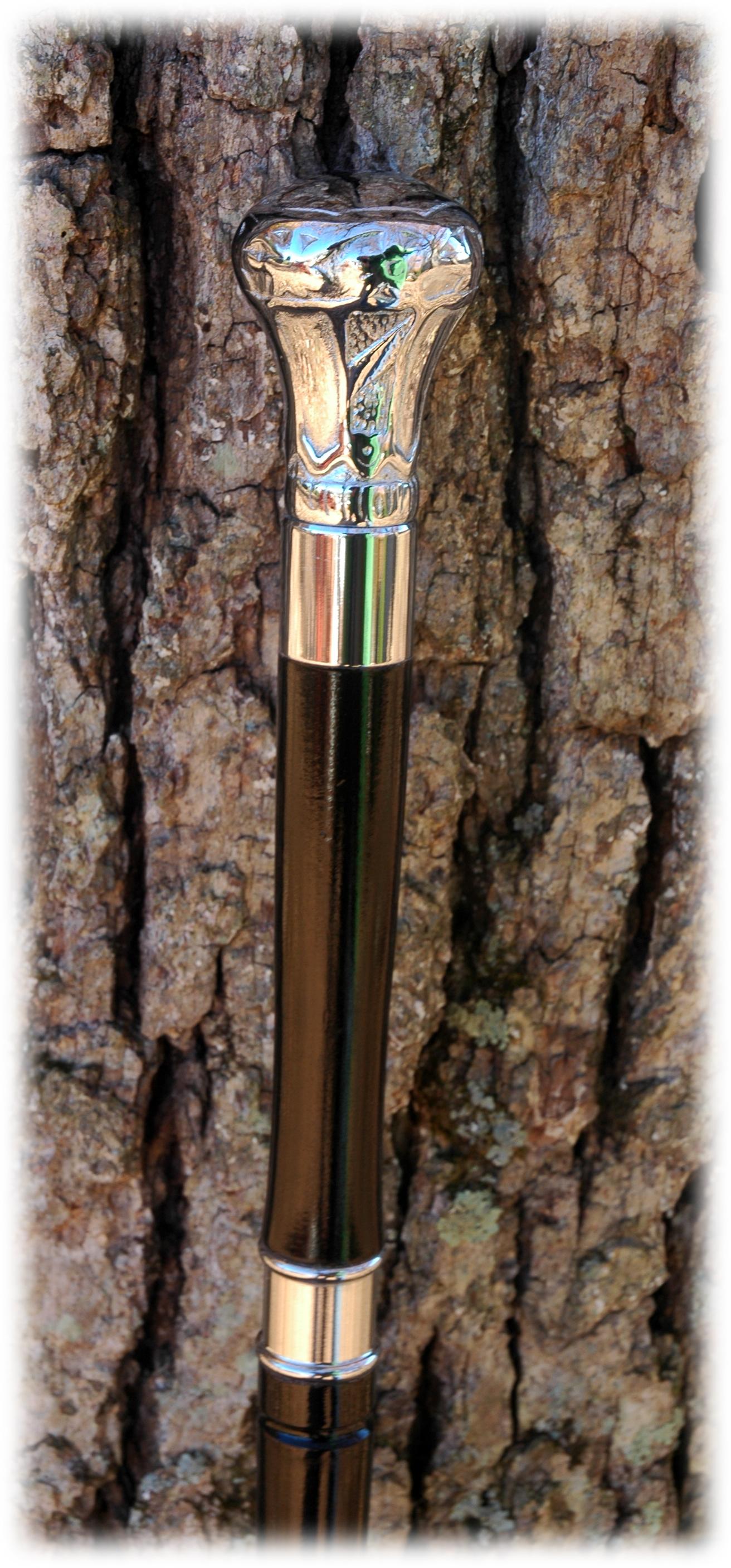 Ebonized Maple, Silver