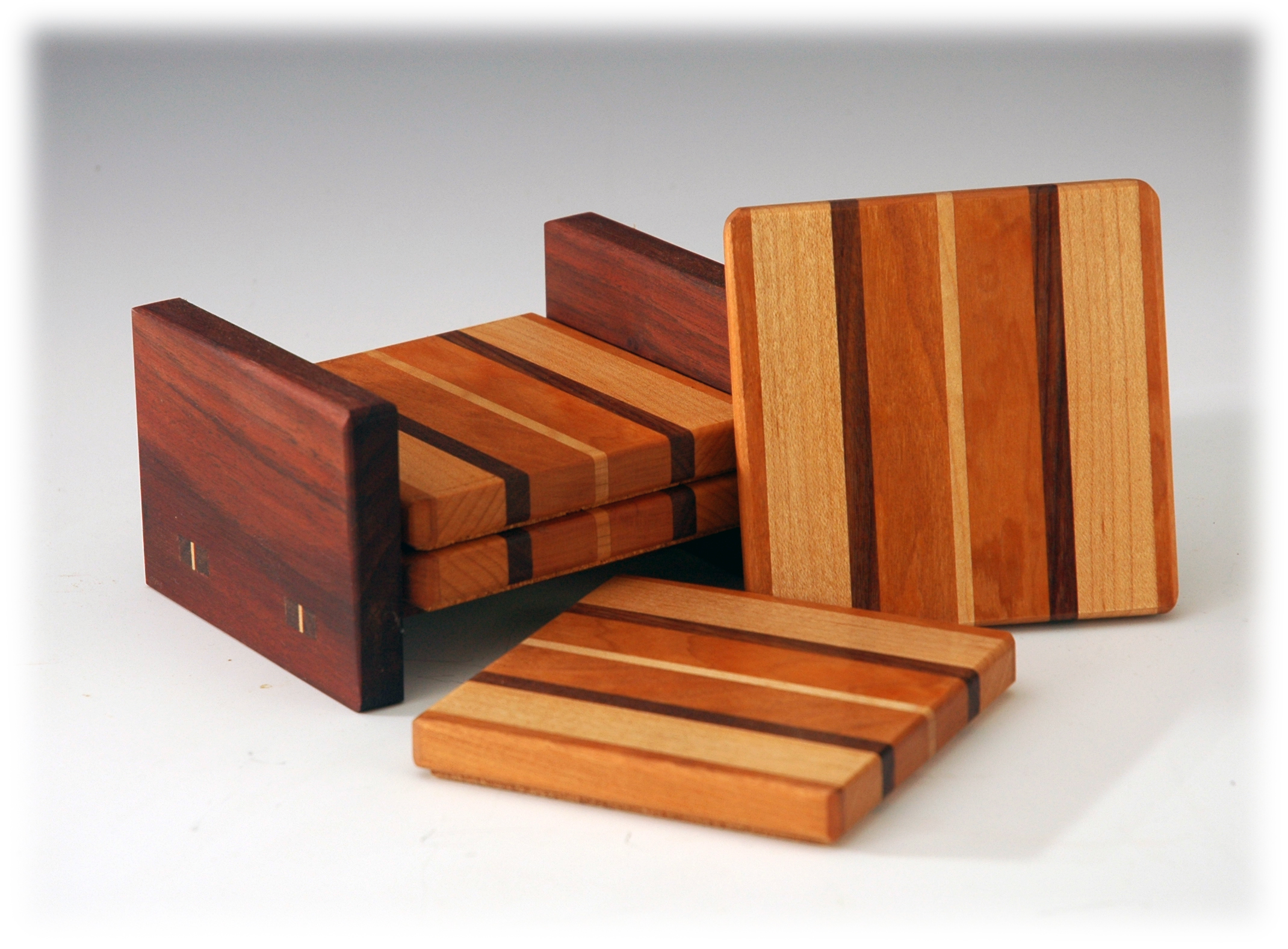 Walnut, Cherry & Maple