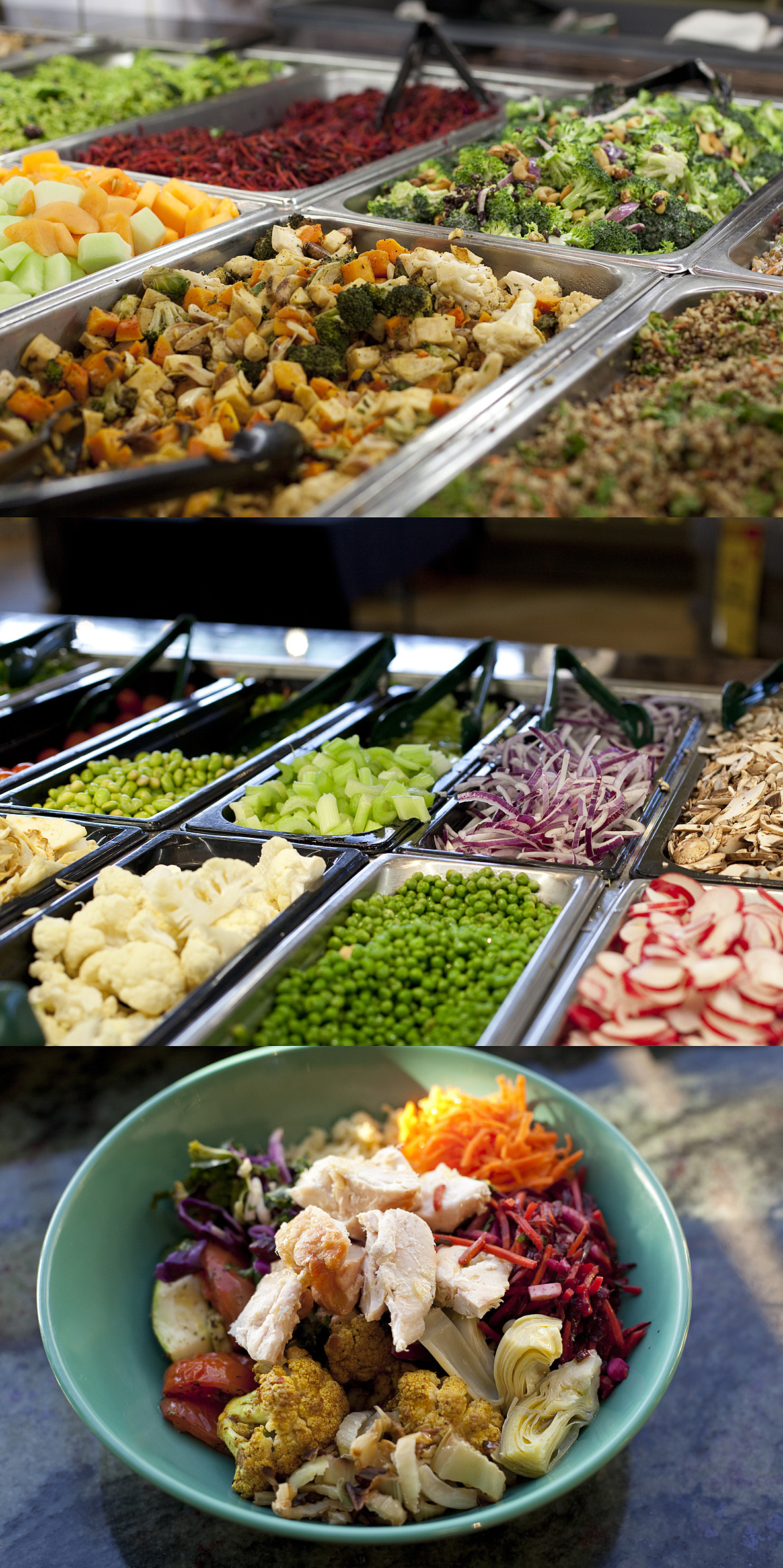 Whole Foods lunch bar