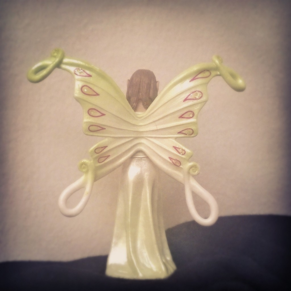 like a butterfly fairy...