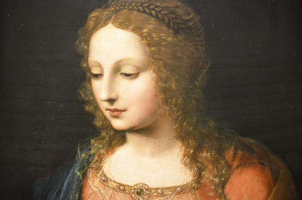 A Woman, early 1500s, Bernardino Luini, Italian, oil on panel