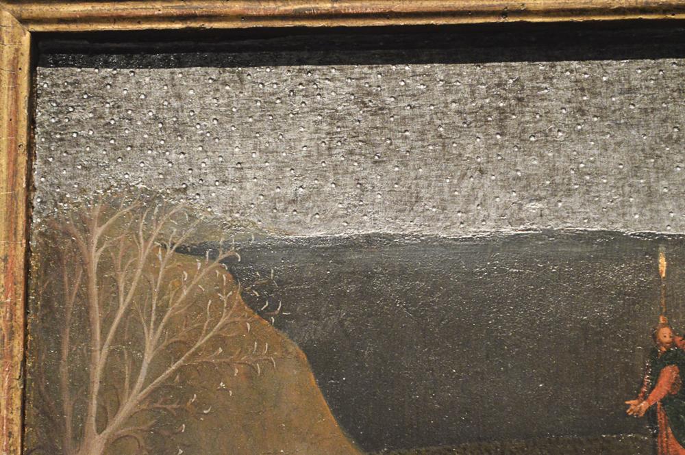 The Agony in the Garden, about 1437-44, Sassetta (Stefano di Giovanni di Consolo), Italian, tempera on poplar panel