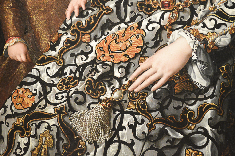 Eleonora of Toledo and Her Son, about 1545-50, Agnolo Bronzino and his workshop, Italian, oil on panel