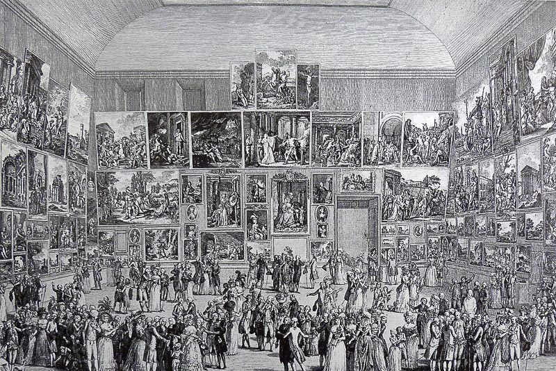 The Paris Salon,  image provided by Wikimedia Commons