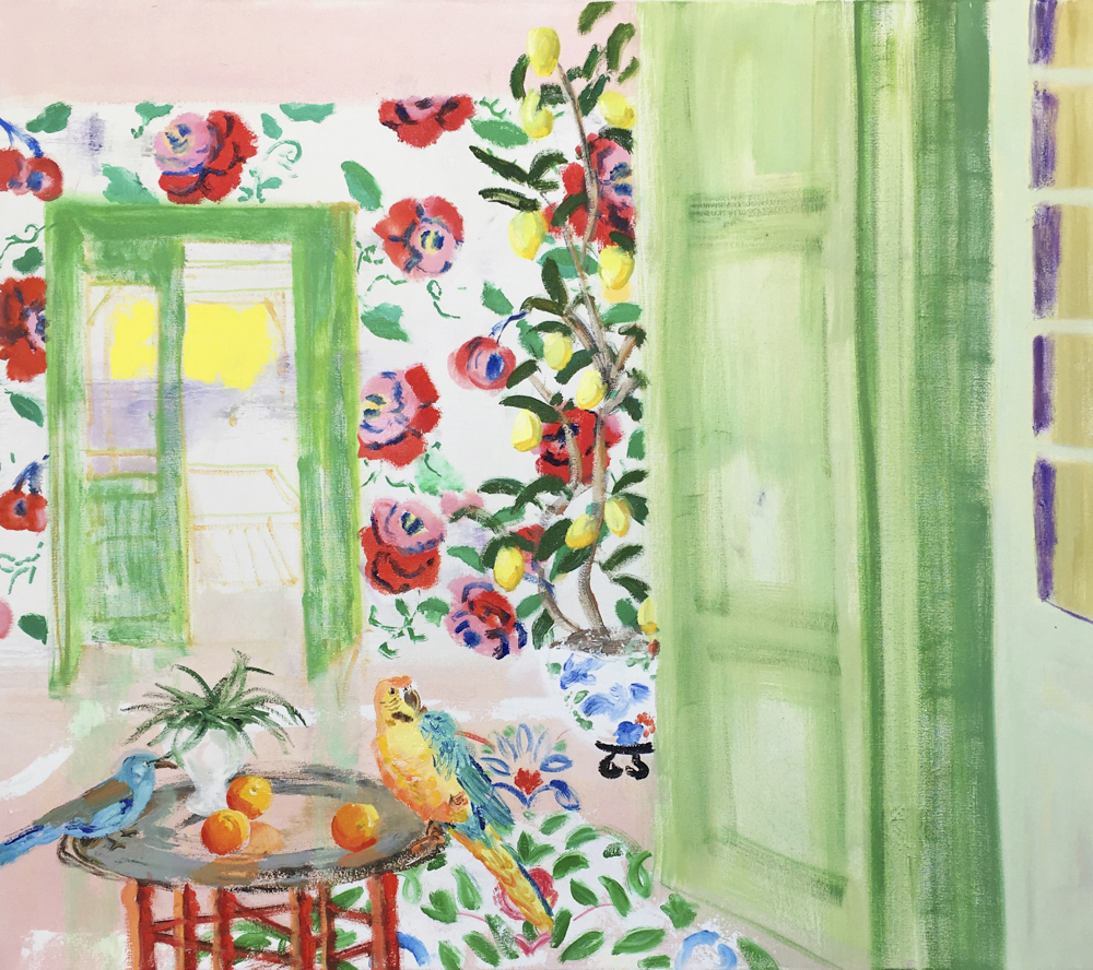 Melanie Parke's  Way To The Lemon Grove