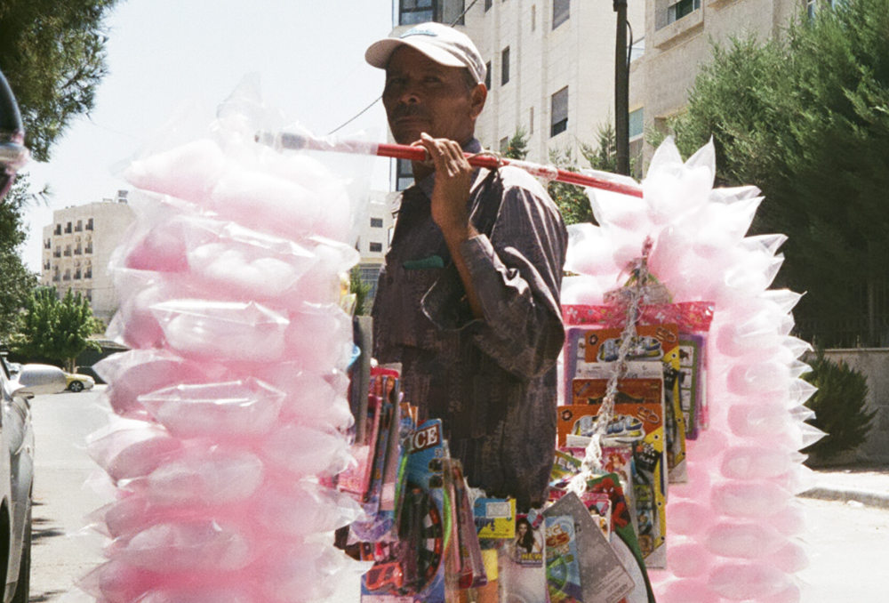 A cotton candy man who inspired Tania's collection. Photo by Tania Haddad.