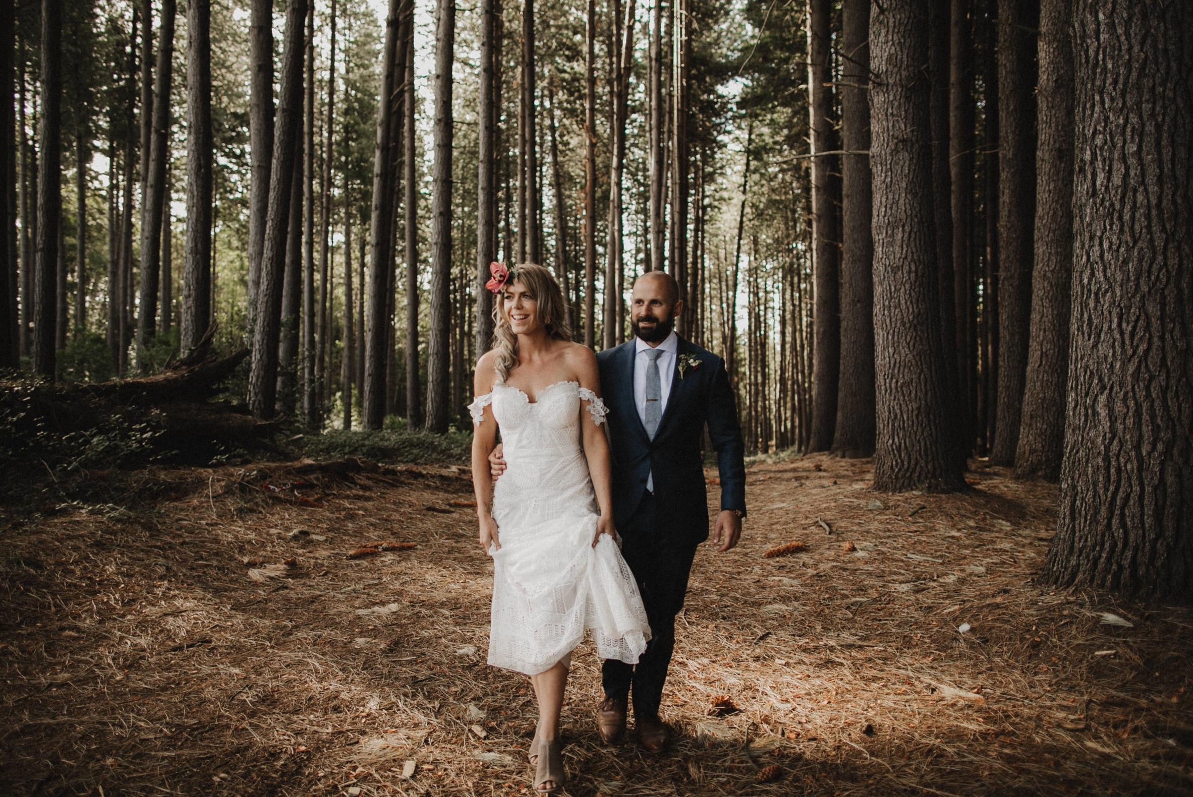 Lauren & Michael - Sugar Pine Walk, Tumbarumba