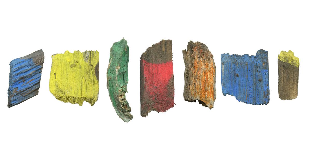 Found Objects no. 45 - 50, 59