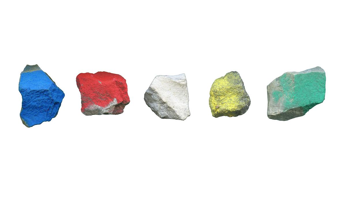Found Objects no. 4-7, 60