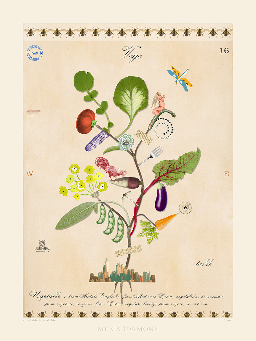 Vegetable Tree of Life